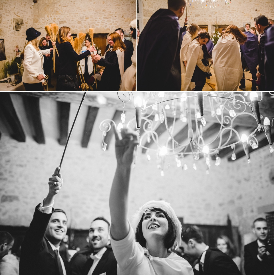 Mariage en hiver - Demeure des Vieux Bains - Cocktail - Carole J. Photographie