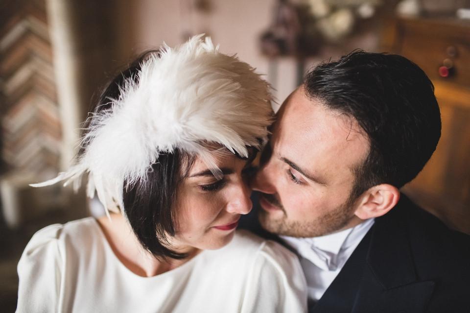 Mariage en hiver - Demeure des Vieux Bains - Couple - Carole J. Photographie