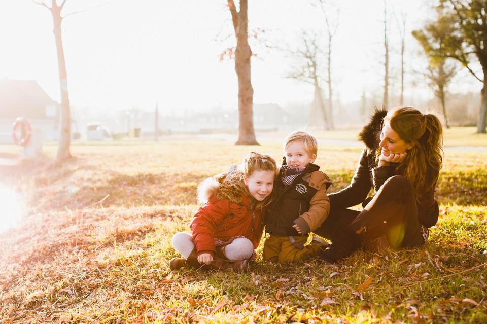 séance photo famille centre équestre Domaine de Grosbois 94