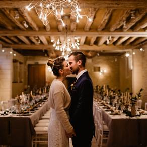 Un mariage en hiver en Normandie