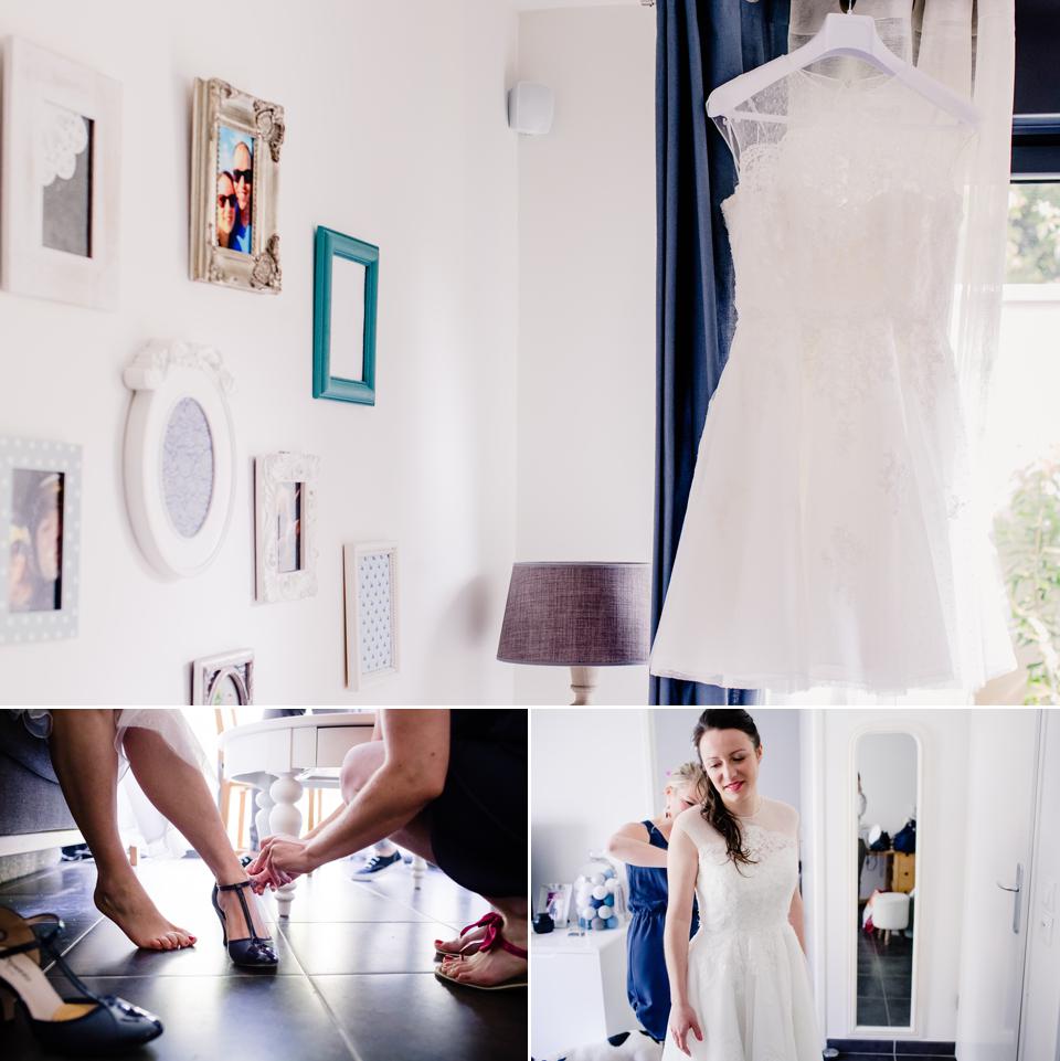 Photo mariage Montreuil préparation de la mariée