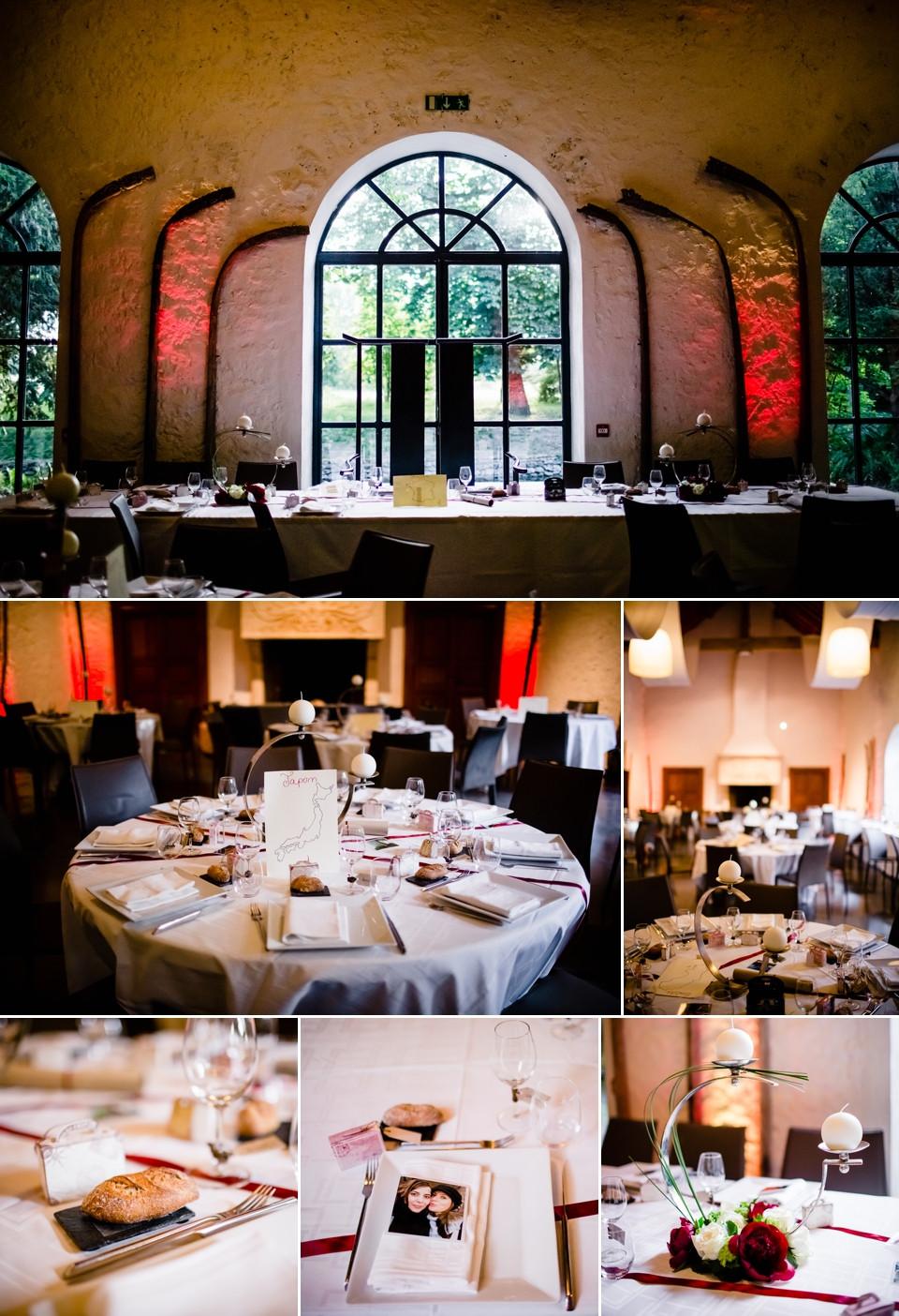 photo mariage domaine de quincampoix décoration salle