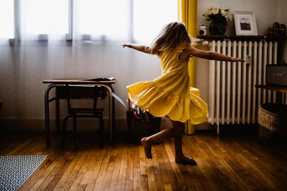 séance photo famille domicile lifestyle - photographe 94