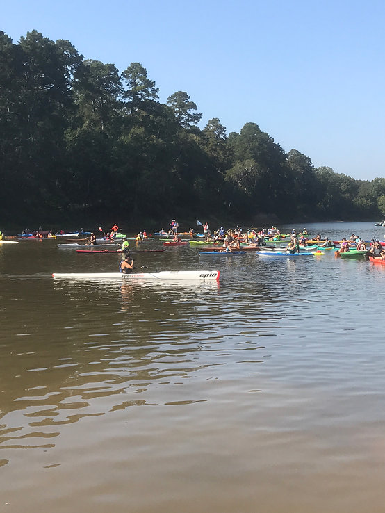 2017 Start of River Rat Paddle Challenge