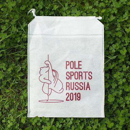 Маленькая сумка на завязках  Pole Sports Russia 2019