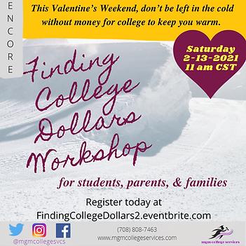 Finding College Dollars Workshop - Feb.
