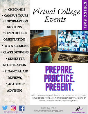 Virtual College Event - General Poster.J
