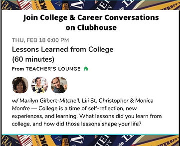 Clubhouse Session for MGMCS - Feb. 18, 2