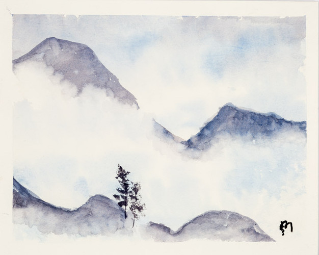 Dzongri by Manas