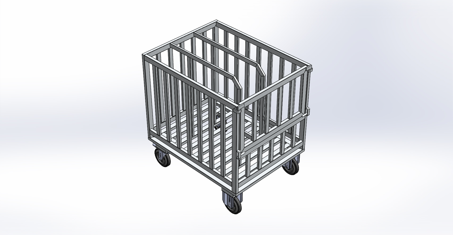 Aluminium Rollwagen