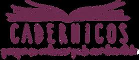 logo cadernicos_slogan a mao.png