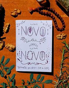 Cadernico para um Novo Ano