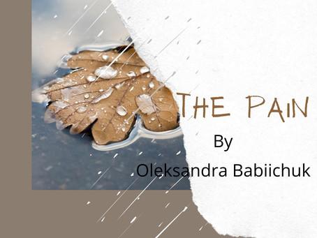 The Pain by Oleksandra Babiichuk