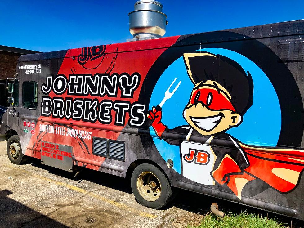 Johnny Briskets food truck