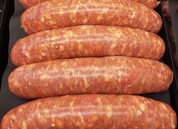 Hot Italian Sausage Wholesale Box