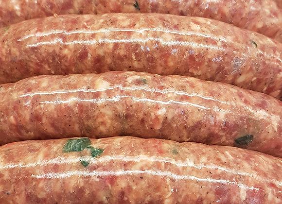 Korean BBQ Beef Sausage
