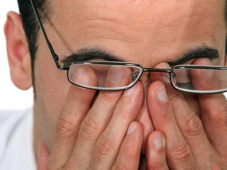 Infusão para a irritação dos olhos