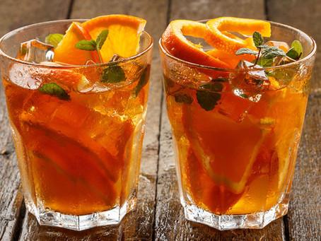 Bebida refrescante para dias quentes no Calor do Verão