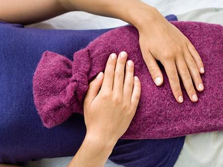 Decocção para cólicas menstruais com deficiência de sangue