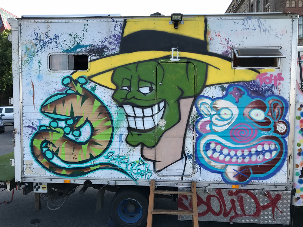Beginners Street Art in Budapest. Art is for everyone. Art should belong in the Streets and not on a museum. Well, the both is fine but we really enjoy Street Art as you can see on our site.