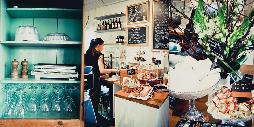 Lekhyttans Kök mellan Örebro och Karlskoga serverar svensk husmanskost från grunden och har ett kafé och konditori.