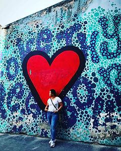 """Love Thy Neighbor"" pop art wall by Stre"