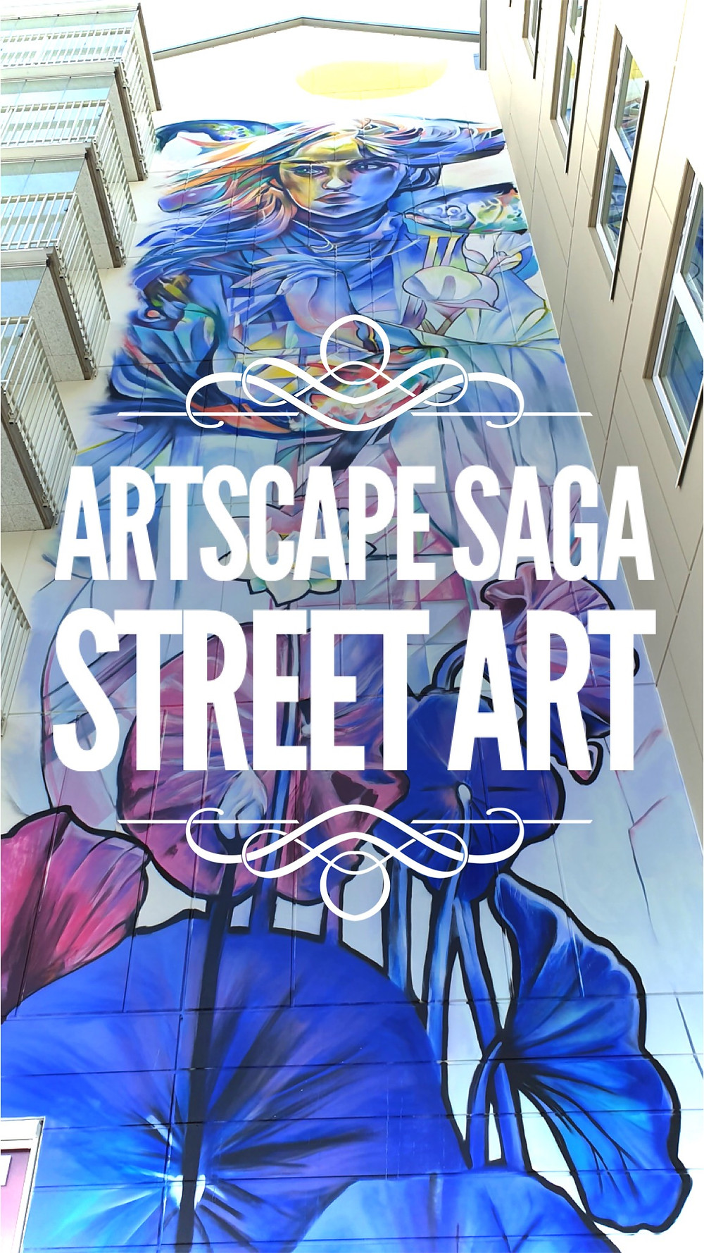 Find Street Art on Sticks & Spoons covering of the Artscape Saga Street Art Project in Sweden! Amazing Street Art Online!