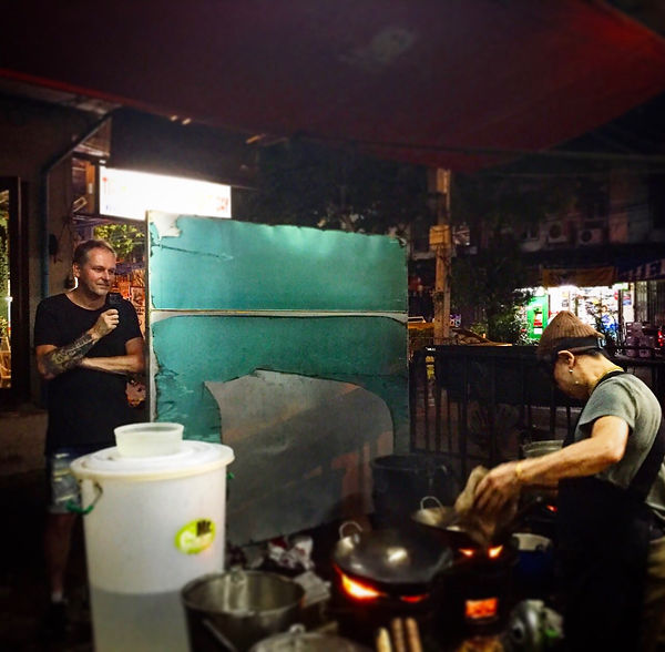 Chef Spoons admiring Chef Jay Fai in Bangkok! At Sticks & Spoons we live for those moments, Food Memories that will be with us for as long as we live. The Food we experience around the world bring us together as humans - we all need to eat to survive obviously, but also - the best way to get to know new people is through their Food Culture.