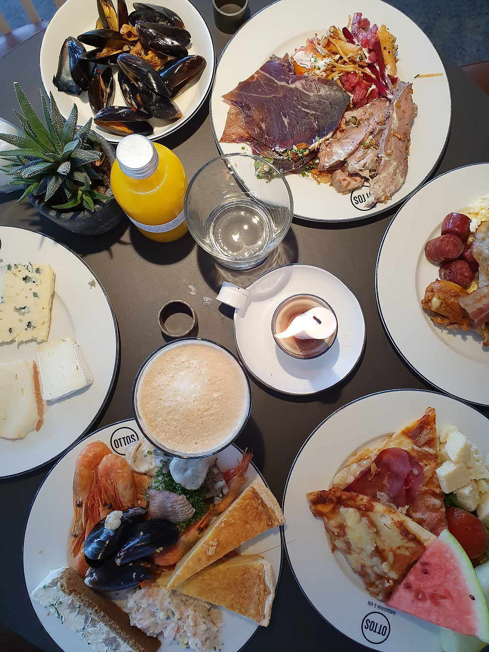 Brunch at Marstrand Havshotell, Marstrand in Sweden.