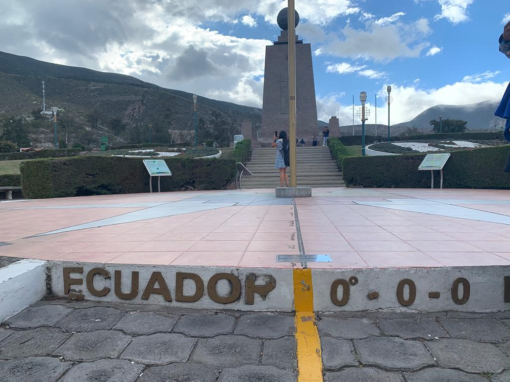 In Quito, Ecuador you can stand in two hemisphere's of our Earth at the same time.