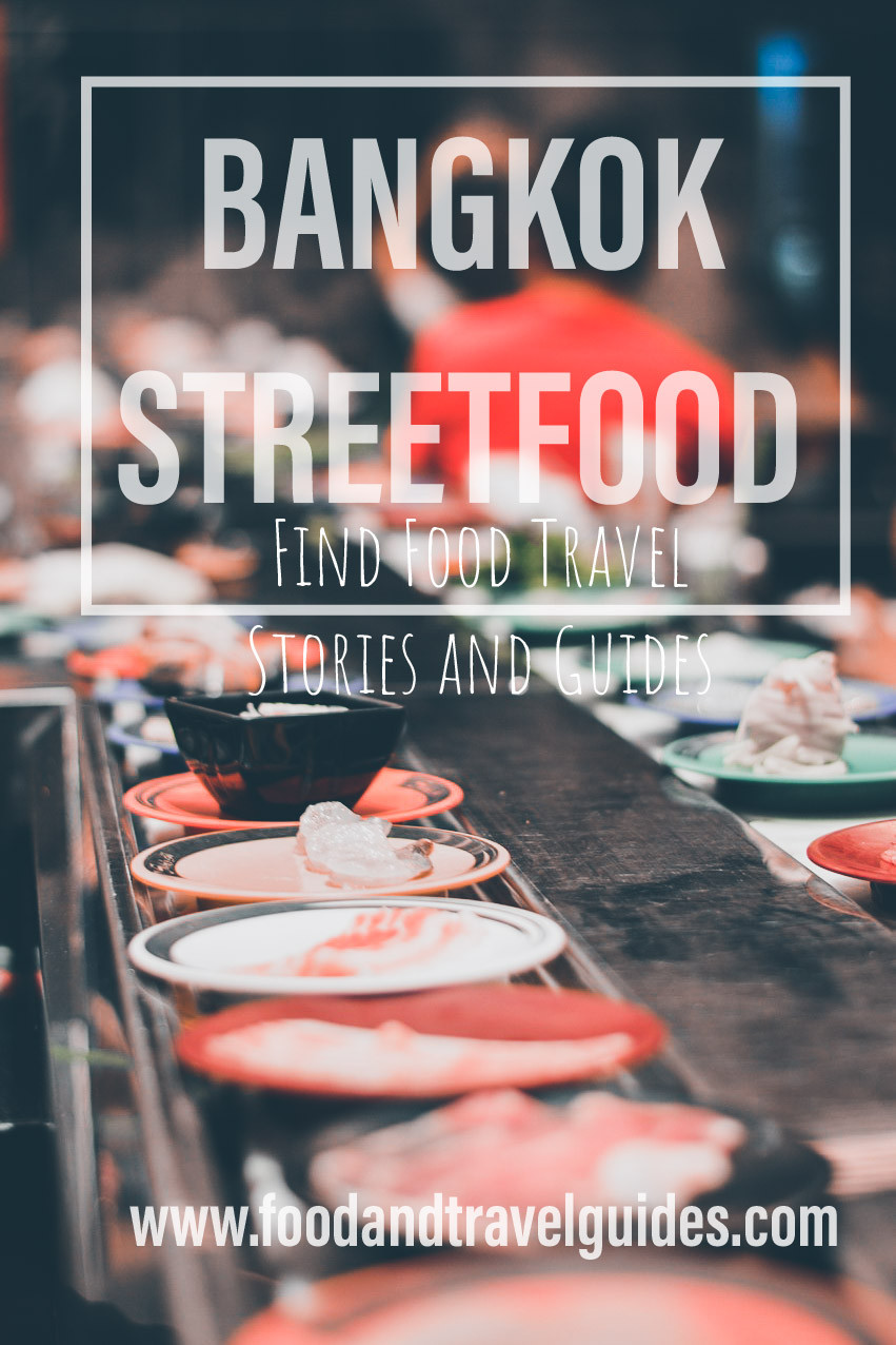 Bangkok Streetfood Banner from the Streetfood Guide on Food and Travel Guides.