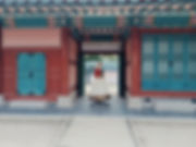 Decoration on buildings in the Gyeongbokgung Palace is truly beautiful!