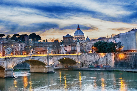 Travel to Italy and experience Rome views like this.