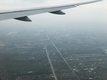 "Jetlag and a ""slow start"" in Bangkok"