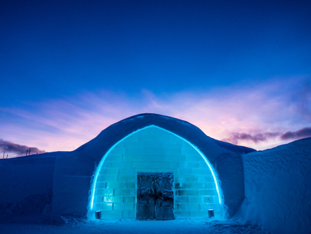 ICEHOTEL - the worlds first hotel completely made of snow and ice
