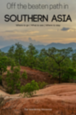 Do you enjoy Off the beaten path adventures? Lets go to South East Asia and find out the best Asian Destinations to travel to experience Off the beaten track adventures with hikes, trekking and scenic views.