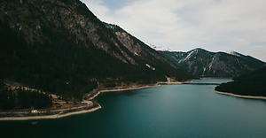 A wonderful Swiss lake is a perfect stop with a Motorhome. Explore with motorhome travels.