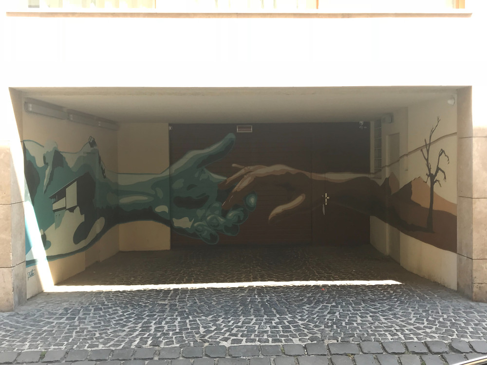 A Street Art Tour in Budapest will reveal secret art wherever you go. Some of the best street art is the one that's hidden. We find new street art everytime we visit Budapest.