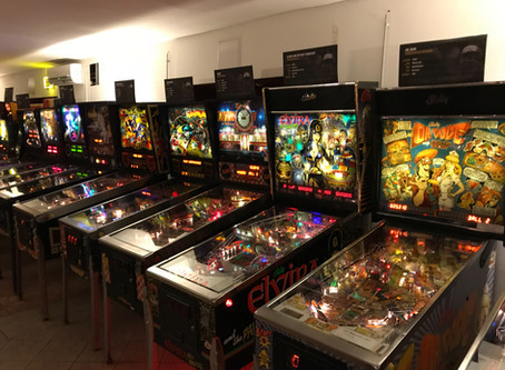 Flipper and Pinball Museum in Budapest