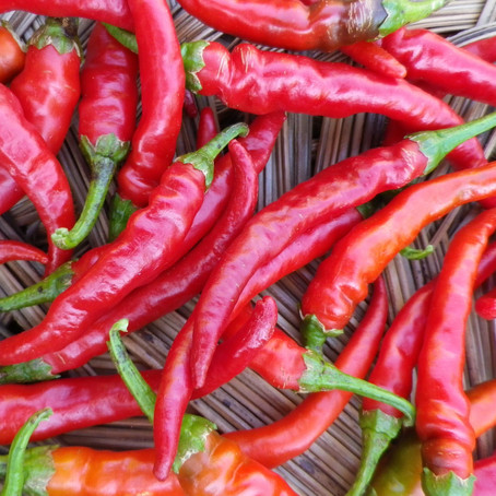 Mind Blowing Benefits of Cayenne Pepper  by Courtney Colby