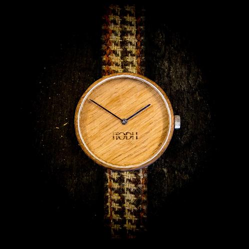 Highlander - Brown Tweed & Brown Leather
