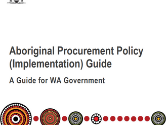 Western Australian Government Aboriginal Procurement Policy Implementation Guide