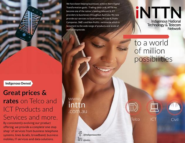 iNTTN Business Brochure: Telecom & IT | INTTN | Australia