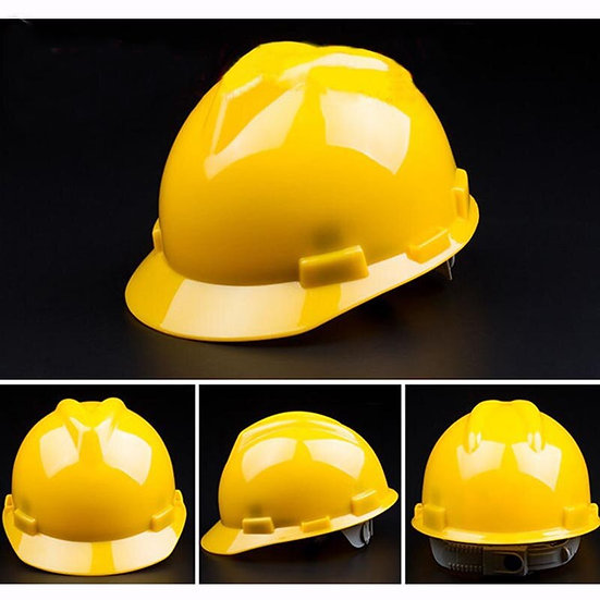 Adults Adjustable Impact Resistance Rescue Helmet Workplace Safety