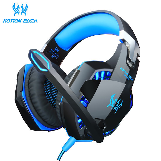 Headset Over-Ear Wired Game Earphones Gaming Headphones