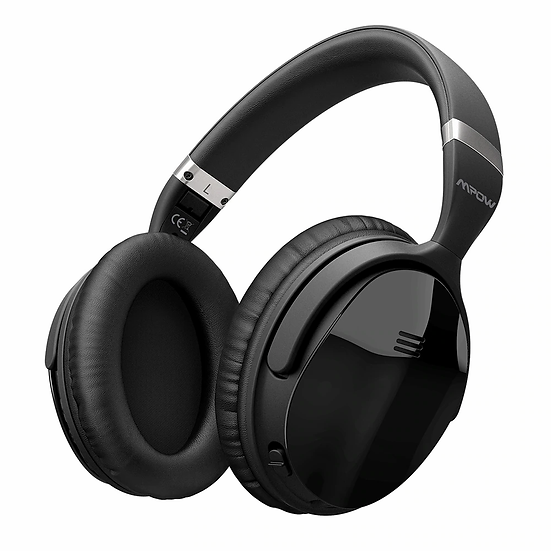 H5 2nd 2Gen Wireless Bluetooth Headphones Active Noise Cancelling With Carry Bag