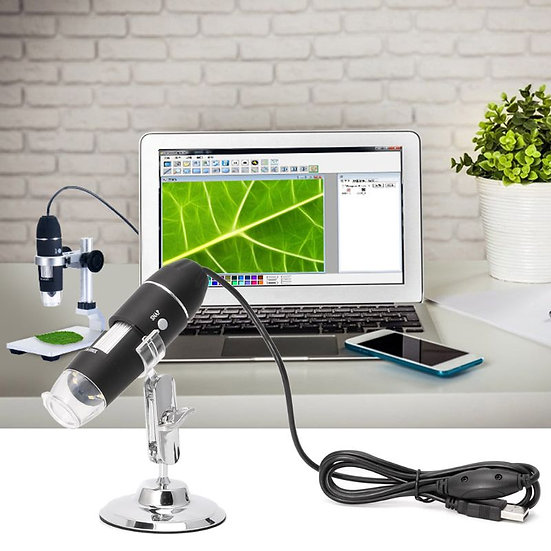 1600X USB Digital Microscope  With Metal Stand