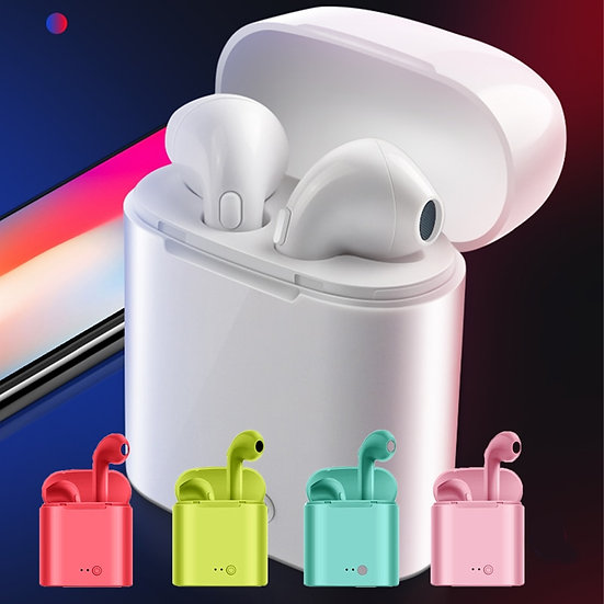 Wireless Bluetooth Earphone Stereo Earbud Headset With Charging Box