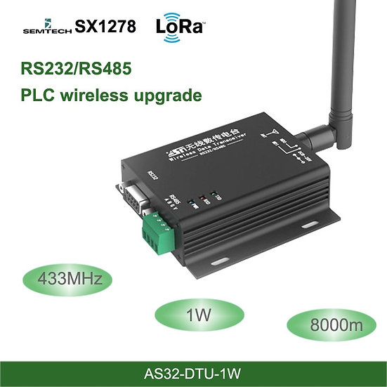 Transceiver 8km Wireless Uhf Module 433M Industrial-Grade Data Transmission Unit