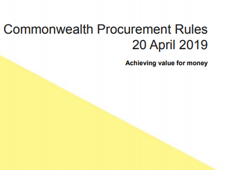 Commonwealth Procurement Rules (Exemption 16: Allows procure directly with Indigenous Business)